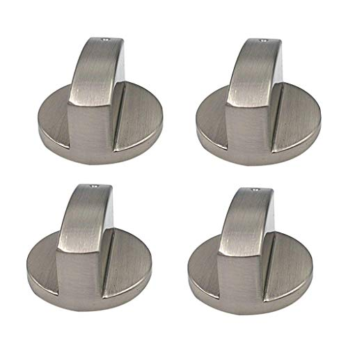 4 PC 6mm Gasherd Knöpfe Universal Zink Legierung Küche Herd Drehknopf Locks Ofen Schalter Kochfläche Control Herd Knöpfe