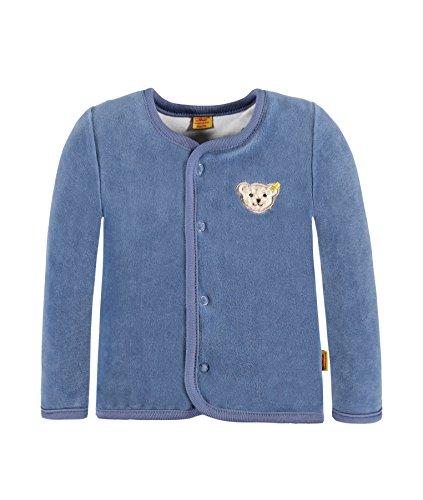 Steiff Collection Steiff Collection Unisex Sweatshirt Sweatjacke 1/1 Arm, Gr. 74, Blau (moonlight blue 3820)