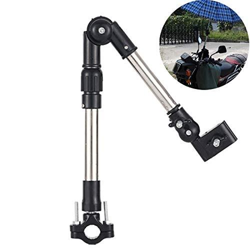 Kamre RVS verstelbare houder paraplustandaard houder draaibare rolstoel fiets paraplu aansluiting kinderwagen parapluhouder