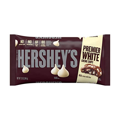 HERSHEY'S Kitchens Baking, White Chocolate Chips, 12 Ounce