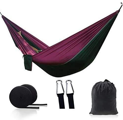 OH Haa Portátil Camping Paracaídas Haa Supervivencia Jardín Muebles de Exterior Ocio Dormir Haa Viaje Colgando Cama Fácil de almacenar