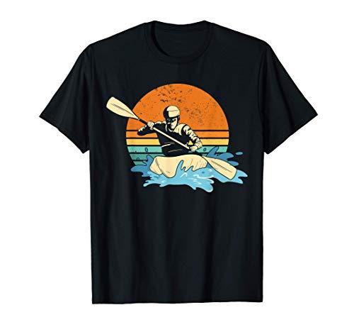 Wildwasser Kajak Paddel Kajak Aufblasbar Kanu Schlauchboot T-Shirt