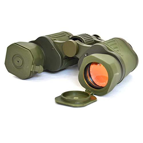 L&WB 10X50 Russische militaire standaard outdoor verrekijker voor volwassenen rode film, outdoor camping, toerisme, jagen, bergbeklimmen, vogels kijken, kan worden gebracht op elk moment