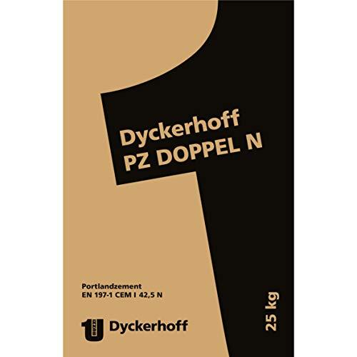 Dyckerhoff CEM I 42,5N Portlandzement PZ Doppel N | 25 kg/Sack | EN 197-1