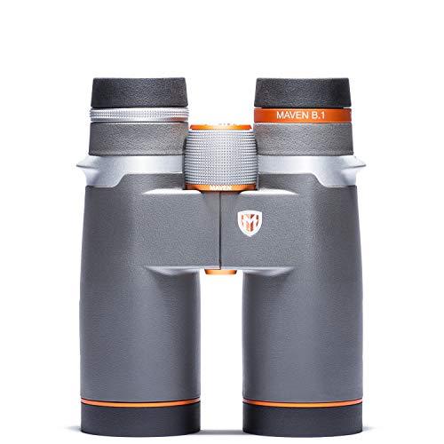 Maven B1 42 mm ED Binocular (10X42, Gray/Orange)