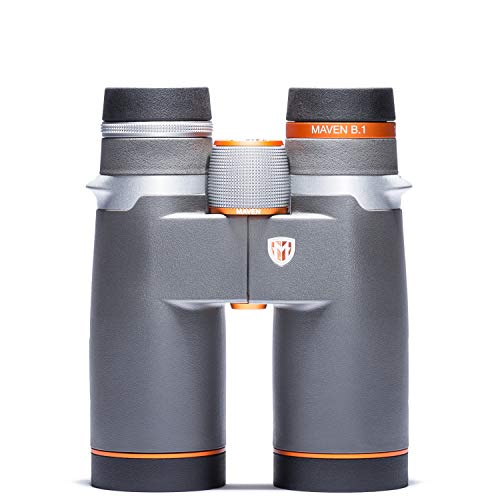 Maven B1 10X42mm ED Binoculars Gray/Orange