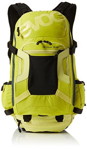 EVOC Sports GmbH Herren FR Tour Team 30L Protektor Rucksack, Sulphur-Yellow, M/L