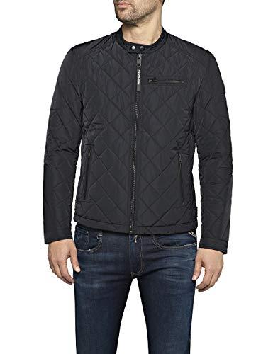 Replay Herren M8000 .000.83110 Jacke, Schwarz (Black 098), XX-Large (Herstellergröße: XXL)