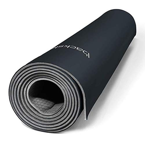 Image of the Backslash Fit Smart Yoga Mat (Charcoal)