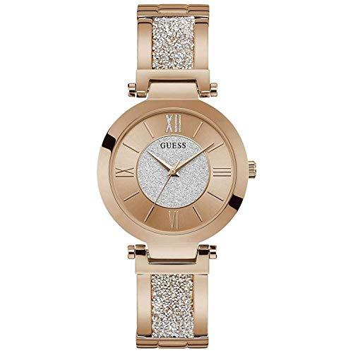 GUESS Guess Woman Watch - Aurora Rose Goud/Brons dameshorloge W1288L3