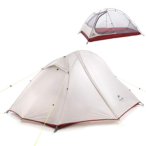 NH Versione Aggiornata Tenda da Trekking per 2 Persone, Tenda All'aperto da Campeggio Impermeabile in Silicone 20D a Doppio Strato per Escursionismo Alpinismo Viaggio