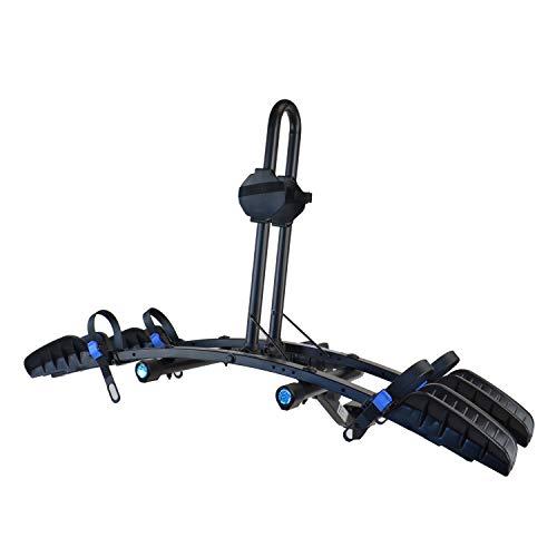 "Heininger 2035 Advantage SportsRack FlatRack 2 Bike Platform Hitch Mounted Rack (Fits 1.25"" and 2"")"