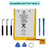 DDS-DUDES - Batería de repuesto compatible con iPod Touch 5 5ª generación A1136 con kit de herramientas de reparación