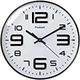 Plumeet Large Wall Clock, 12