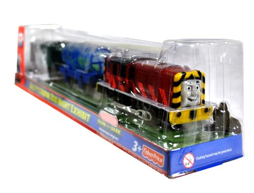 Thomas & Friends Trackmaster Salty's Sodor Zoo Night Exhibit Glow in the Dark by Fisher-Price