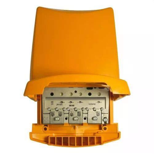 Televes 535840 - Amplificador mástil 24v fm-biii/dab-u-u g41