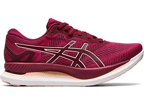 ASICS Women's GlideRide Running Shoes, 10M, Rose Petal/Breeze