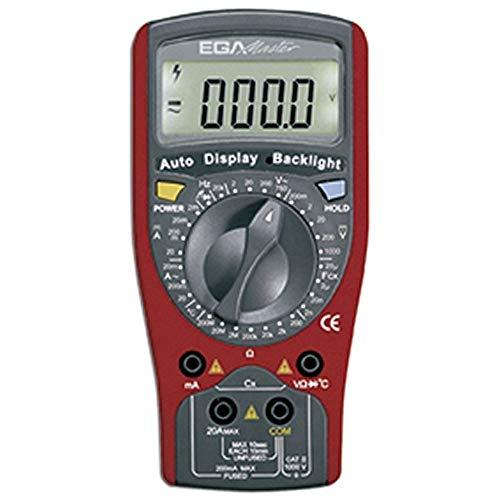 Egamaster - Multimetro 20ma-20a corriente alterna/ma-20a corriente continua