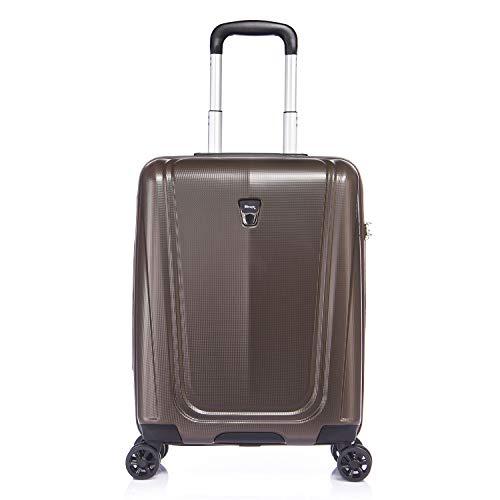 Verage® Shield Hard Shell ligero Spinner equipaje viaje llevar en cabina equipaje de mano maleta 3 años de garantía durable 8 ruedas giratorias