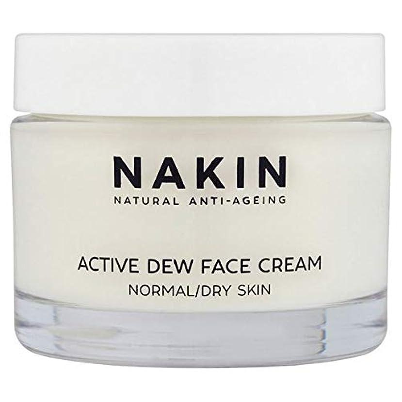 夕食を作る競争心臓[Nakin] Nakin天然の抗老化アクティブ露フェイスクリーム50Ml - Nakin Natural Anti-Ageing Active Dew Face Cream 50ml [並行輸入品]