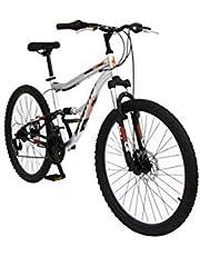دراجة جبلية سبارتان ريدج ام تي بي، رمادي، 26 انش