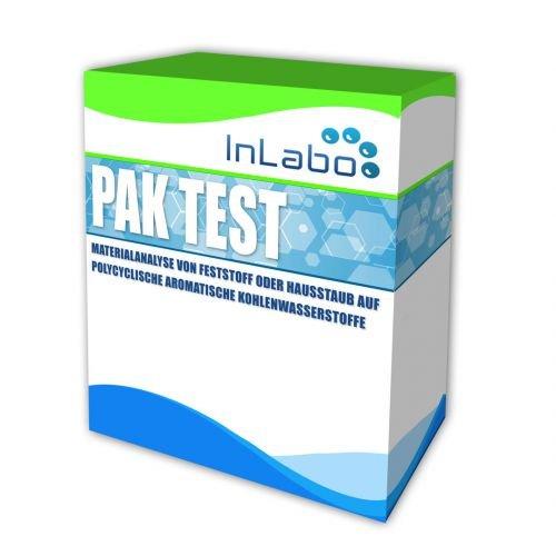 PAK-Test: Analyse von Hausstaub oder Feststoff auf polycyclische aromatische Kohlenwasserstoffe (PAK