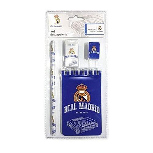 Export.CM 097258 Real Madrid - Juego de 4 Piezas, Color Azul