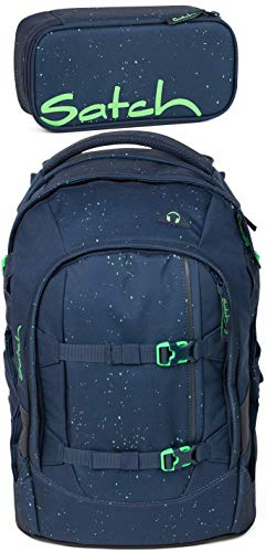 Satch Pack Space Race 2er Set Schulrucksack & Schlamperbox
