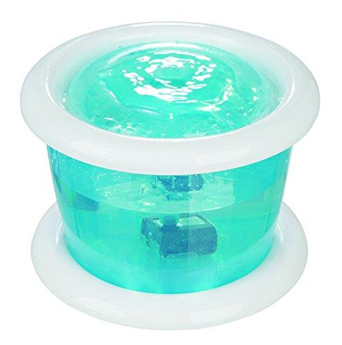 Trixie 24464 Wasserautomat Bubble Stream, 3 l/ø 24 cm, blau/weiß