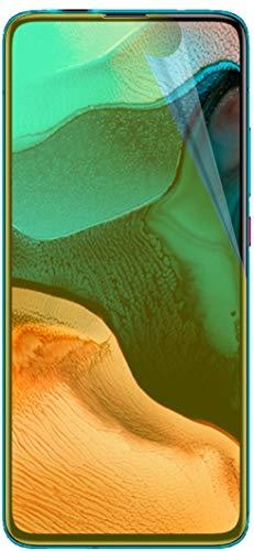 dipos I 2X Protector de Pantalla Compatible con Xiaomi Redmi K30 Pro Zoom - Cobertura 100% para Pantalla I 3D Full Cover láminas Protectoras