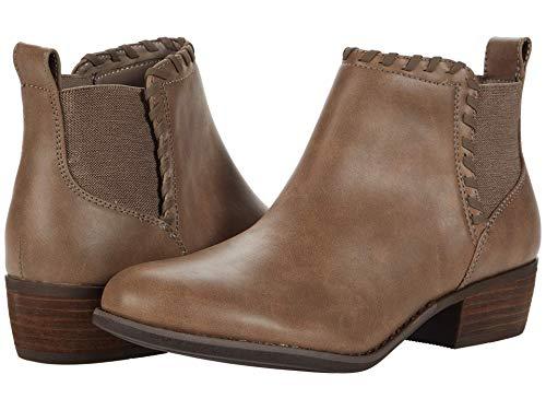 Skechers Women's Ankle Bootie Boot, Dark Taupe, 8