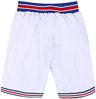 Basketball Short Space for Jerseys Black-White Halloween Costumes