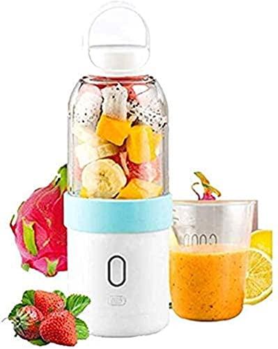 HYLK Juicer Cup Juice Blender Smoothie Procesador de Alimentos Máquina de Fitness Licuadora Naranja Adecuada para jugos Oficina Batido Viajes Exprimidor al Aire Libre