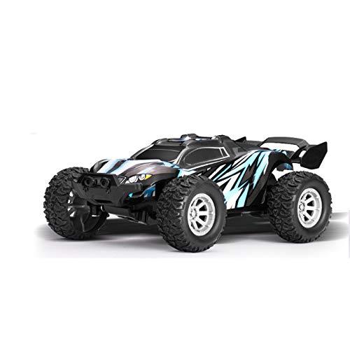 LJKD Coches con Errores teledirigidos de Alta Velocidad de 2.4Ghz, Regalos rápidos del Coche de Juguete 2WD para los Muchachos y Las Muchachas,Azul