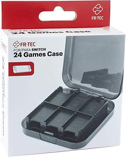 FR·TEC - Funda para almacenamiento de 24 juegos, para Nintendo Switch