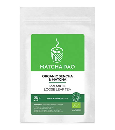 Organic Sencha with Matcha 50g | Loose Leaf Tea | Japanese Green Tea