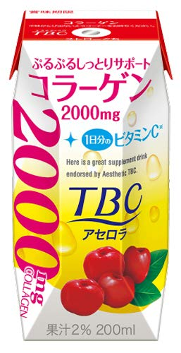 森永乳業『TBC コラーゲン アセロラ』