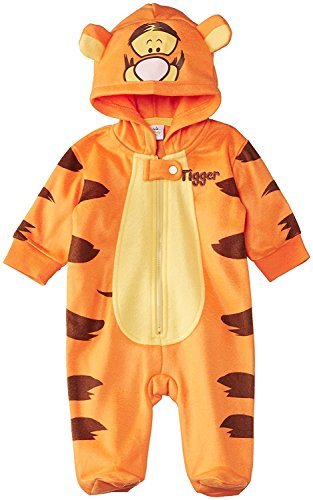 Combinaison pilote pyjama Tigrou - 12 mois - multicolor