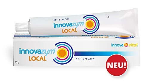 innovazym Local Hautcreme mit Lysozym | Verbrennungen, Sonnenbrand, Pickel,Neurodermitis