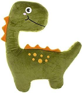 DCASA Forma Dinosaurio Referencia DC Cojines Textiles del hogar Unisex Adulto, Color, 30x15x36