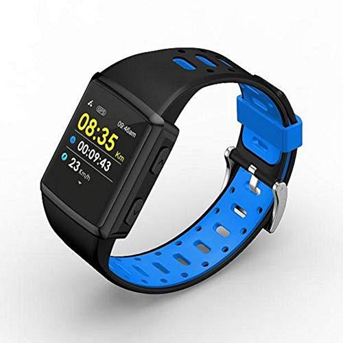 Buitensportenhorloge Vierkant Jeugd M3 Gps Dynamische Hartslag Muziek Foto Smartwatch Blauw