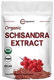Organic Schisandra Extract Powder, 8 Ounce, Pure Schisandra Supplement,...