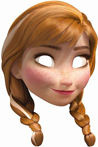 Generique Disney Die Eiskönigin Anna Maske Lizenzware bunt Einheitsgröße