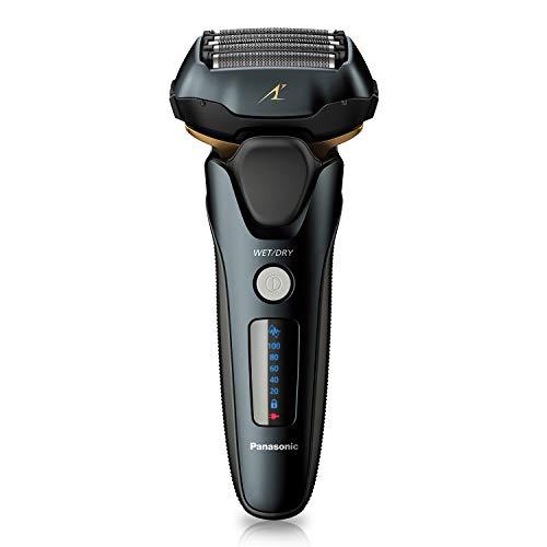 Panasonic Arc5 wet/Dry Electric Shaver for Men With Pop-Up Trimmer, 16-D Flexible Pivoting Head & Intelligent Shaving Sensor, ES-LV67-K, Black