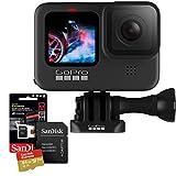 Câmera GoPro HERO9 Black à Prova D'água + Cartão de memória SanDisk 64GB Extreme Classe 10 160MB/s