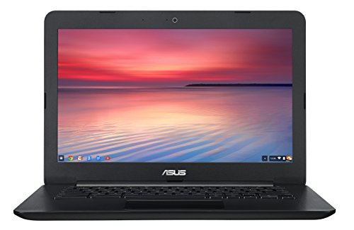 ASUS C300 13.3 Inch Chromebook (Intel Celeron, 4GB, 32GB SSD, Black)