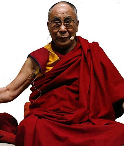 Terrapin Trading - Abiti da uomo tibetano, 3 pezzi, motivo: monaco boudanath, tempio Kathmandu, taglia S