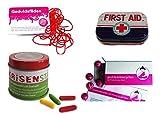 yagma Notfallpaket (Krisenbewältigung - Krisenstäbe, Geduldsfäden, Problemlöserpillen, First Aid Pillendose)