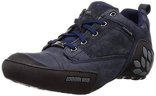 Woodland Men's Navy Sneakers -7 UK/India (41 EU) (GC 1868115 Navy)