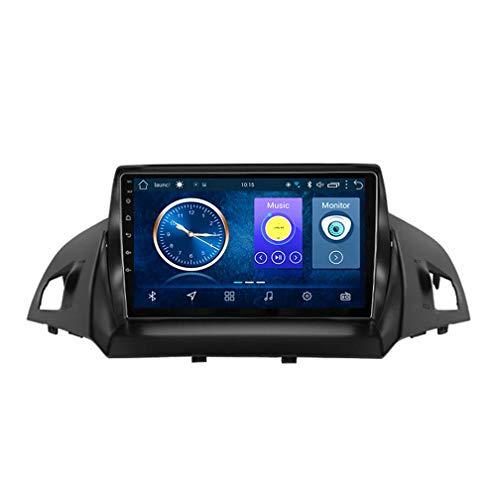XMZWD Navigation Für Auto 9 Zoll, Android 8.1 2 + 32G Auto DVD, Für Ford Kuga Escape C-Max 2013-2016 Auto GPS Navigation Unterstützung Lenkradsteuerung, Navigationsgeräte Für LKW